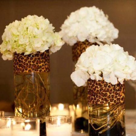 As flores sempre trazendo elegância para a decoração